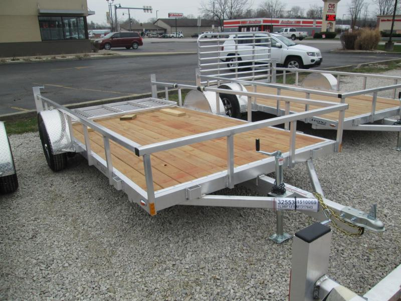 2021 7x14 Legend Open Aluminum Utility Trailer. 17643