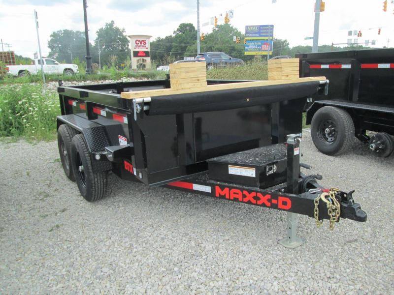 2022 6x10 12K MAXXD D7X Dump Trailer. 85657