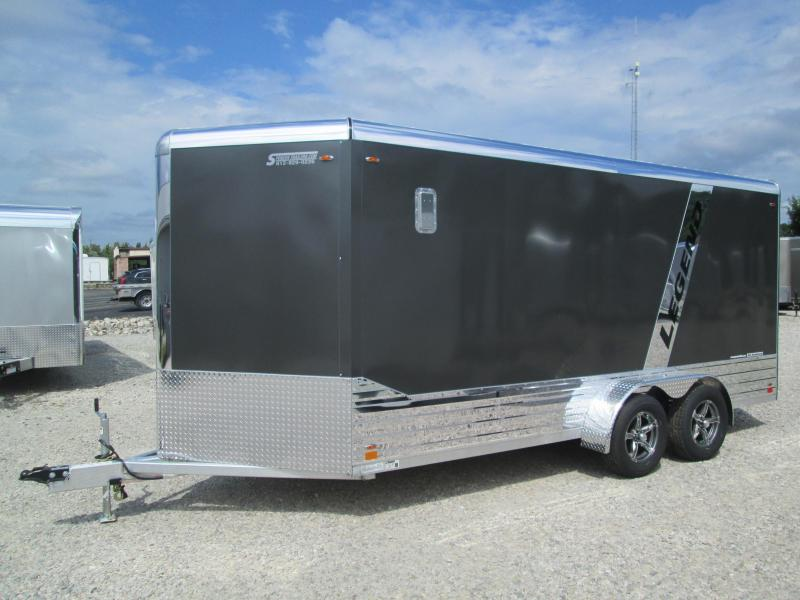2021 Legend  7X19 DELUXE V NOSE (16+3 foot V Nose) 7K Enclosed Cargo Trailer