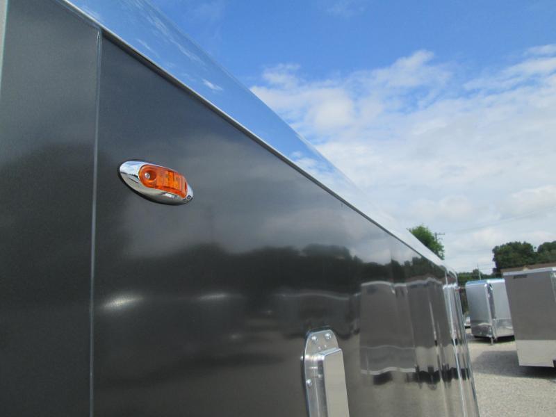 2021 Legend  7X19 DELUXE V NOSE (16+3 foot V Nose) 7K Enclosed Cargo Trailer. 17110