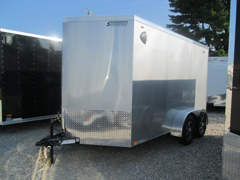 2021 7x12+V-Nose 7K Legend STV Enclosed Cargo Trailer. 17793