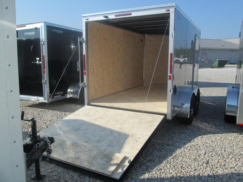 2021 7x12+V-Nose 7K Legend STV Enclosed Cargo Trailer. 17793
