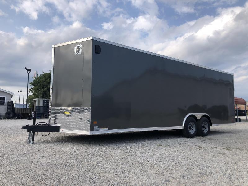 2021 24x8.5 10K Darkhorse Enclosed Cargo Trailer. 1564