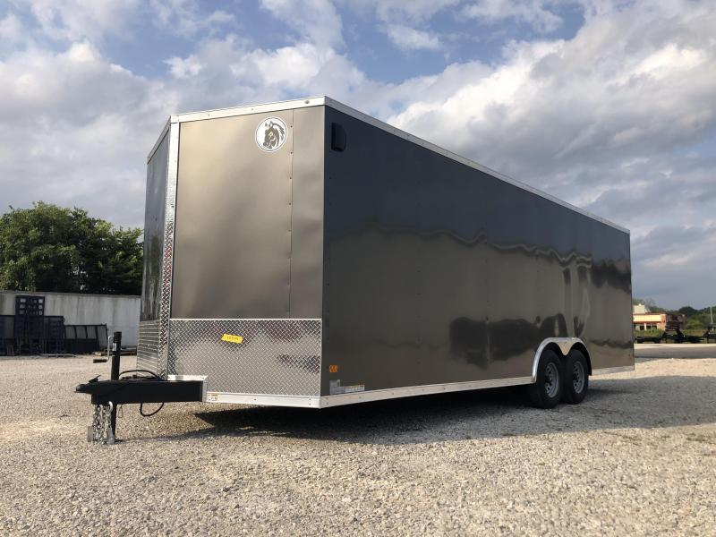 2021 24x8.5 10K Darkhorse Enclosed Cargo Trailer. 1564