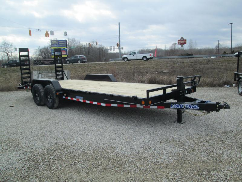 2021 18'+2' 14k Load Trail Equipment with fold-up ramps. 24093