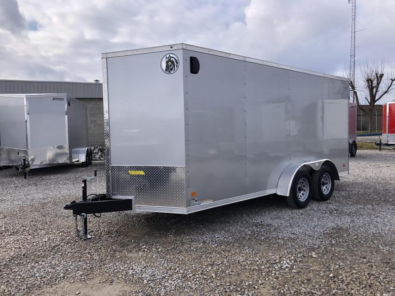 2021 7x16 7K Darkhorse Enclosed Cargo Trailer. 103511
