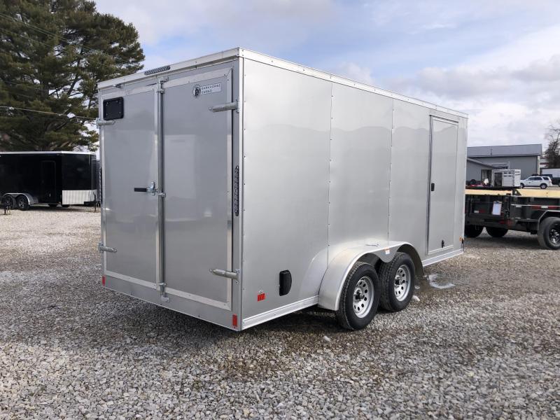 2021 7x16 7K Darkhorse Enclosed Cargo Trailer. 103511