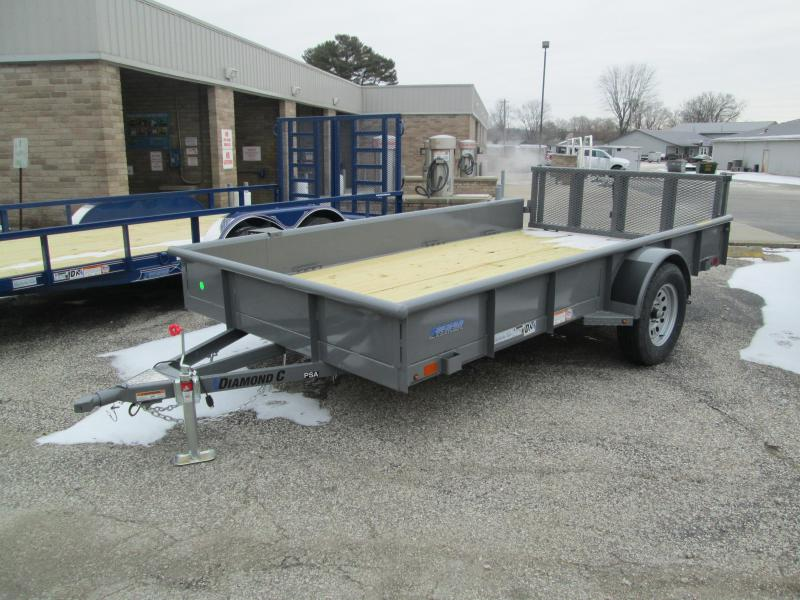 2021 12x77 Diamond C PSA135 Utility Trailer. 41578