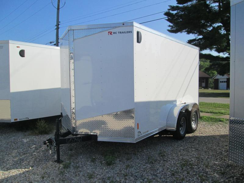 2020 12x7 7K Royal Cargo RDLX Enclosed Trailer. 57461