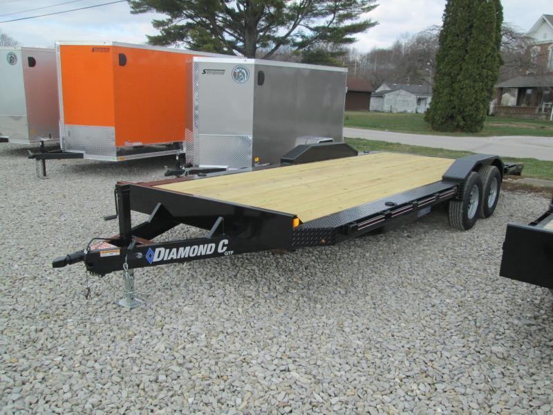2021 20x102 10k Diamond C GTF Car Trailer. 38456