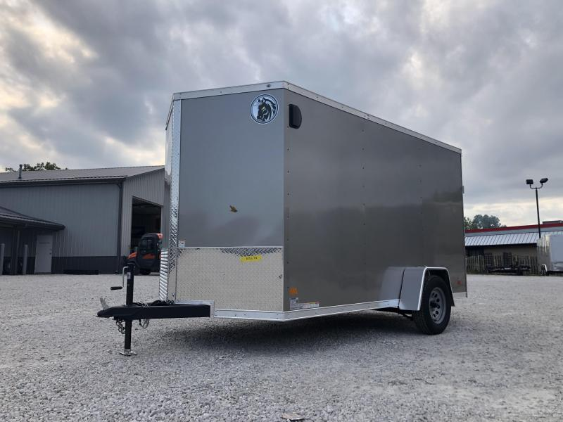 2021 6.5x12 Darkhorse Enclosed Cargo Trailer. 1574