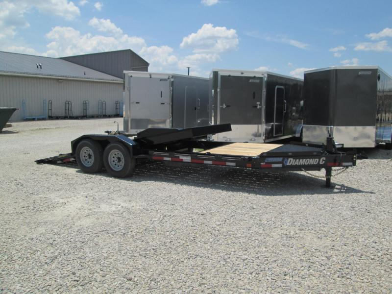 2020 16+4x82 14.9K Diamond C HDT207 Split Tilt Equipment Trailer. 29754