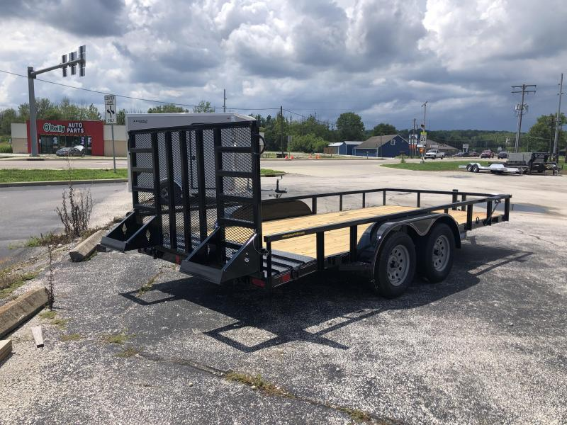 "2020 14'+2'x83"" 7K Diamond C GTU235 Utility Trailer. 31948"