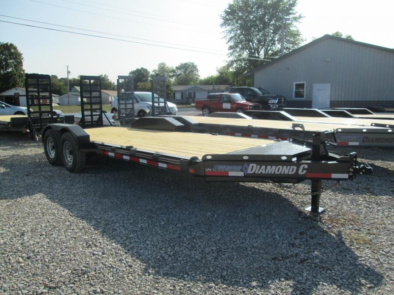 "2021 18'+2'x82"" 14.9k Diamond C Low-Pro Equipment Trailer. 34940"
