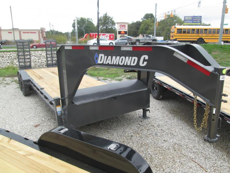 2022 22+2x80 18k Diamond C LPX208 GN Equipment Trailer. 52426