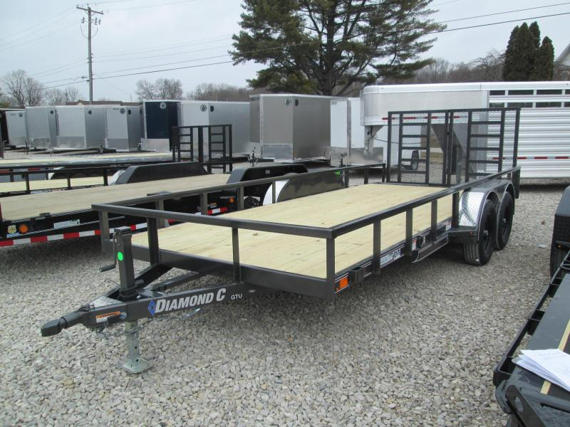 2021 16+2x83 7K Diamond C GTU235 Utility Trailer. 40882