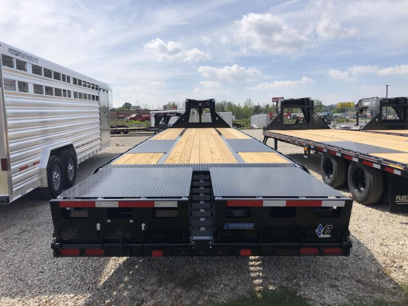 "2021 FMAX 210MR 30'+5'x102"" 25K Diamond C Engineered Beam Equipment Trailer. 33565"