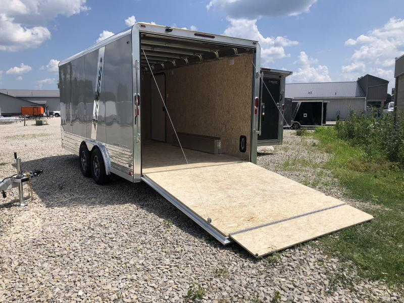 2021 8x16'+V-nose 7K Legend DVN Enclosed Trailer. 17129