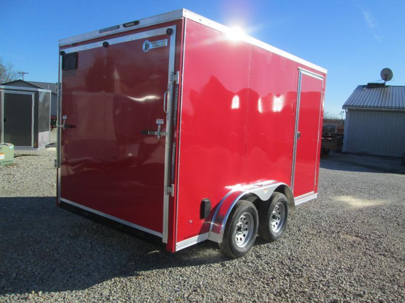 2021 7.5x12 7K Darkhorse Enclosed Cargo Trailer. 102528