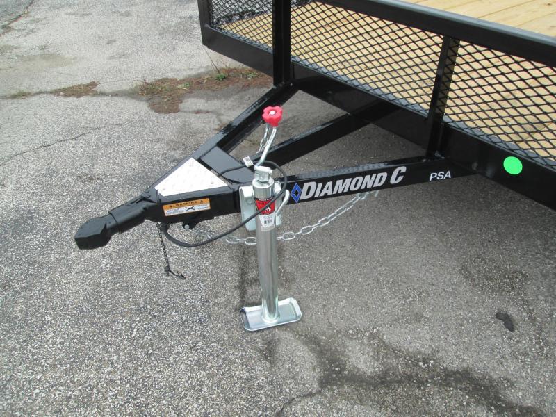 2021 14x77 Diamond C PSA135 Utility Trailer. 35746