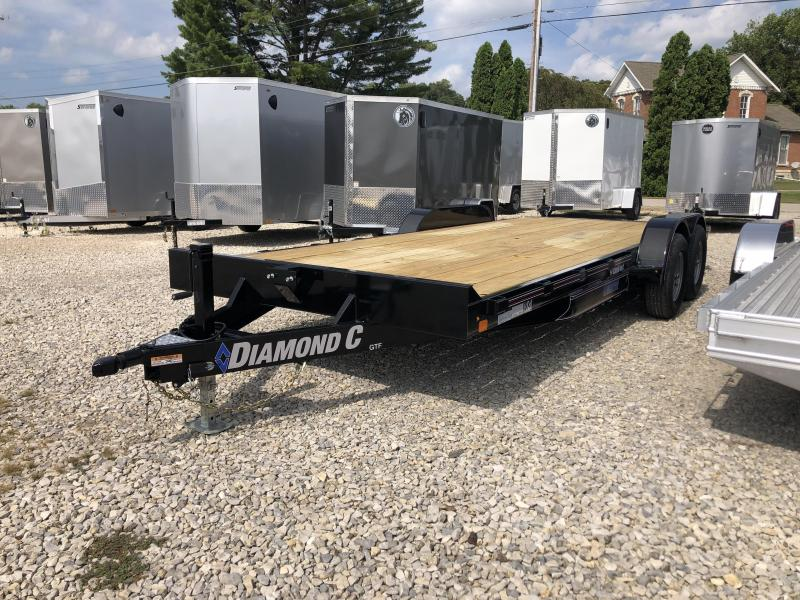"2021 18'+2'x82"" 10K Diamond C GTF Equipment Trailer. 34150"