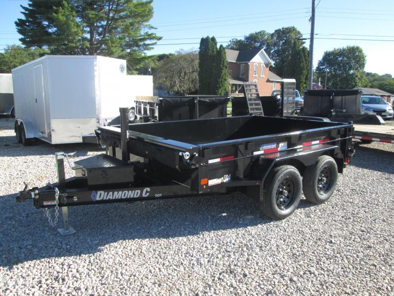 2021 10x77 7K Diamond C GDT235 Dump Trailer. 50744