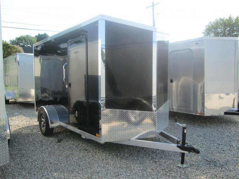 2021 6x12+V-Nose Legend Explorer Enclosed Cargo Trailer. 17609
