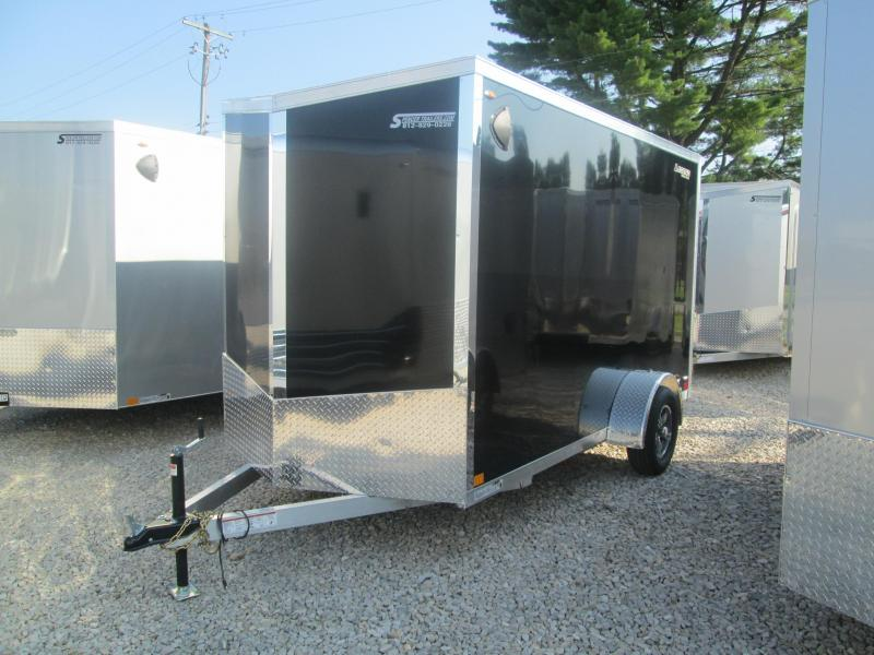 2021 6x12+V-Nose Legend Explorer Enclosed Cargo Trailer. 17609