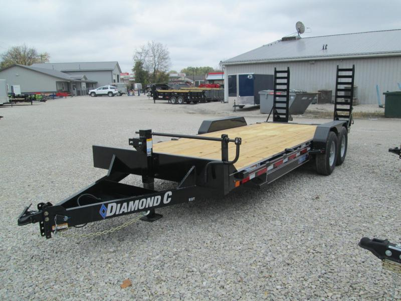 "2021 18'+2'x82"" 14K Diamond C EQT207 Equipment Trailer. 35732"