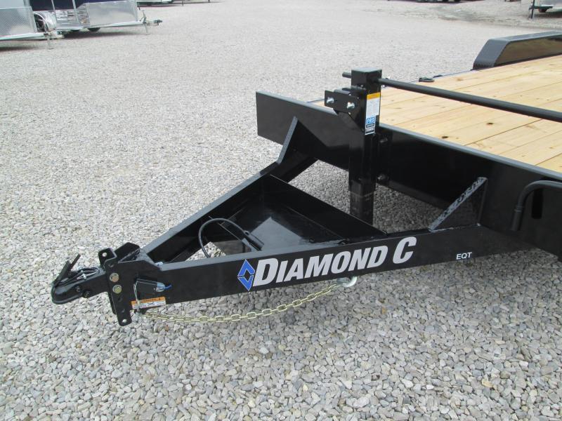 "2021 18'+2'x82"" 14K Diamond C EQT207 Equipment Trailer. 35732"