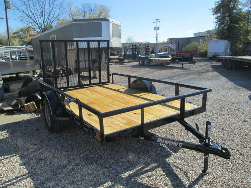 2021 10x77 Diamond C GSA135 Utility Trailer. 37528