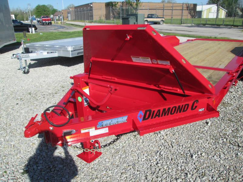 """2021 16'+4'X82"""" 14.9k Diamond C HDT Equipment Trailer. 46312"""