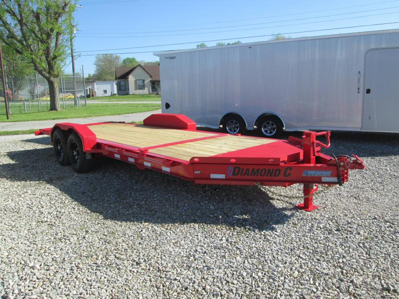 "2021 16'+4'X82"" 14.9k Diamond C HDT Equipment Trailer. 46312"