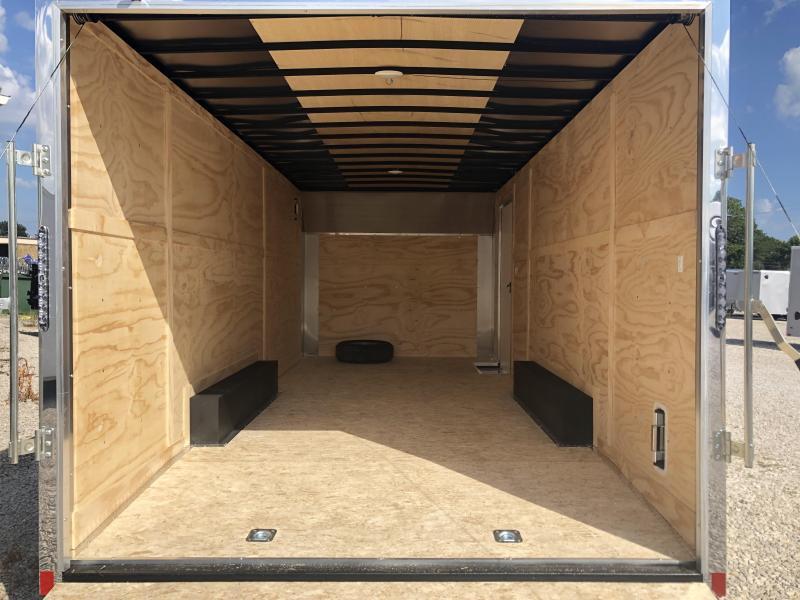 2021 8.5x20 10k Darkhorse Enclosed Cargo Trailer. 01100