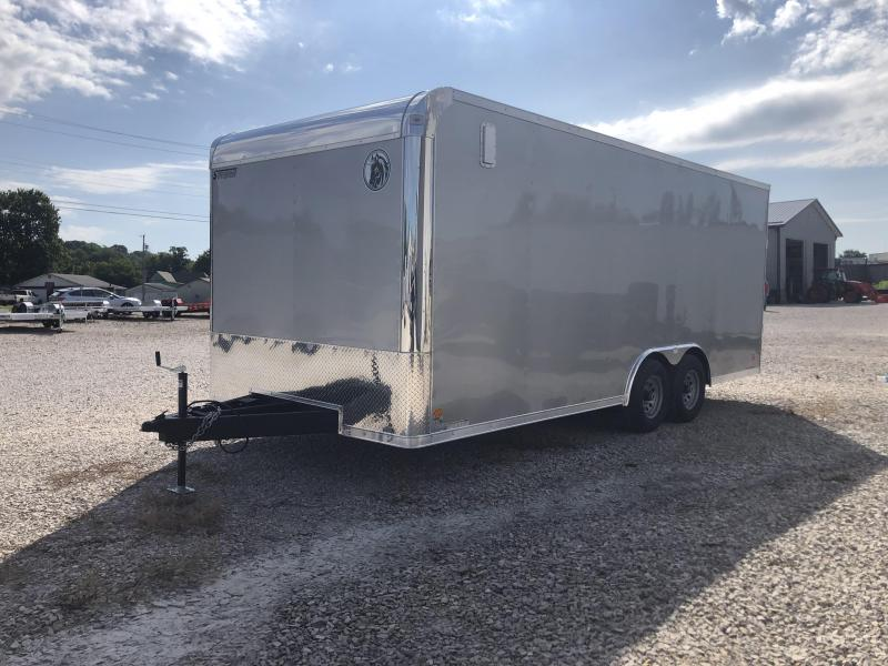 2021 8.5x20 10k Darkhorse Enclosed Cargo Trailer. 01100