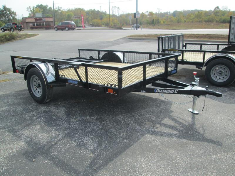 2021 10x77 Diamond C PSA135 Utility Trailer. 35742