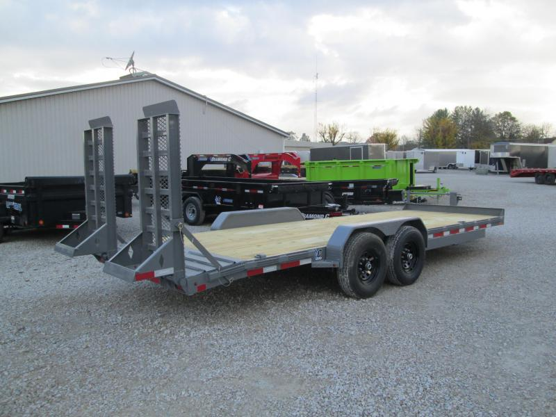2021 Diamond C Trailers EQT207 Equipment Trailer
