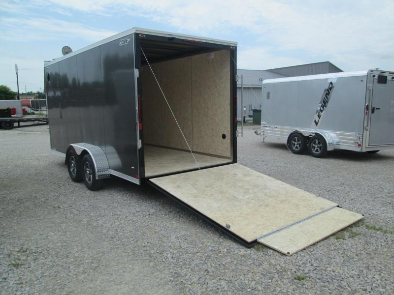 2022 16'+2'x7' 7K Legend CYCLONE Enclosed Cargo Trailer. 317385