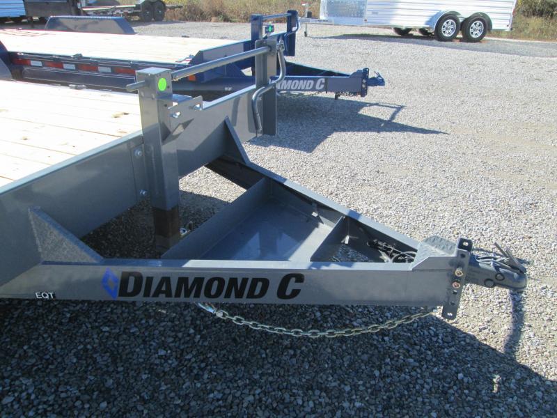 "2021 18'+2'x82"" 14K Diamond C EQT207 Equipment Trailer. 35735"