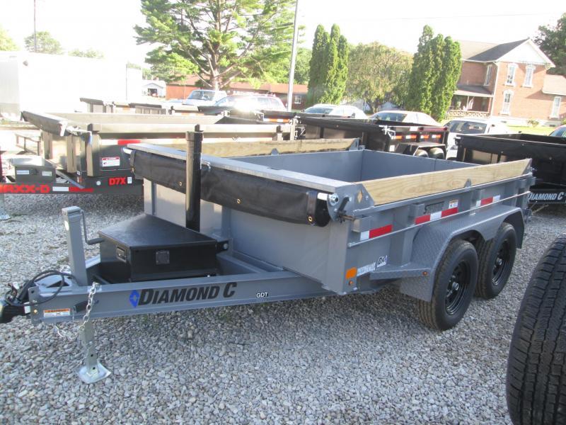 2021 10x77 7K Diamond C GDT Dump Trailer. 50157