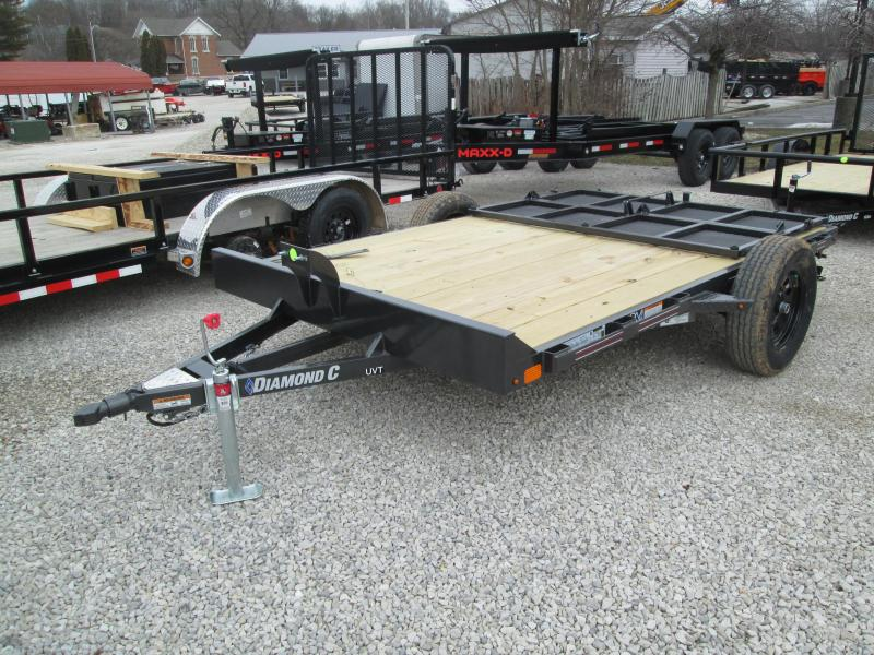2021 10x77 Diamond C UVT135 Utility Trailer. 41402