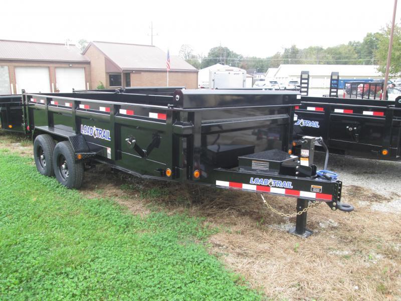 2022 83x16 14k Load Trail DT8316 Dump Trailer. 50903