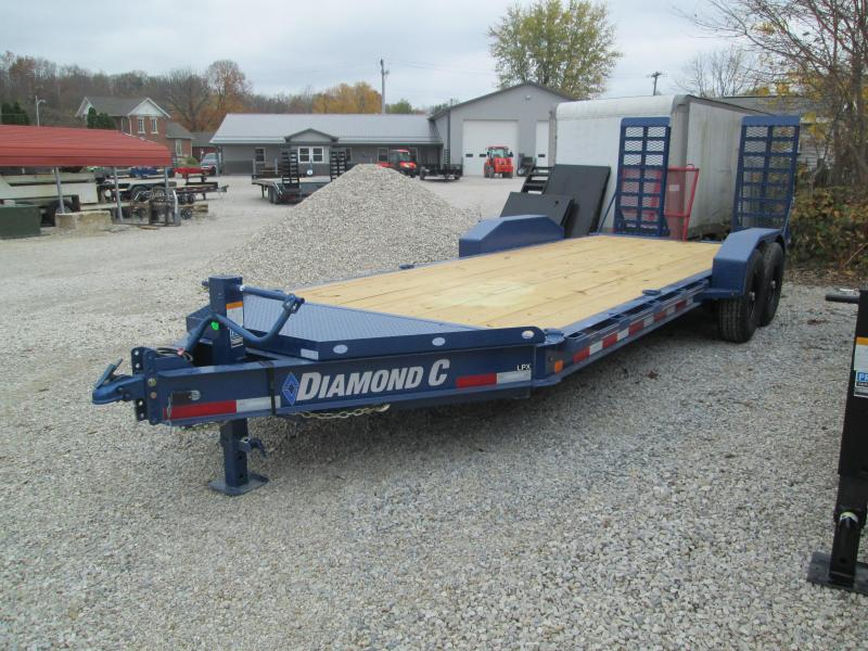"2021 18'+2'x82"" 14.9K Diamond C LPX207 Equipment Trailer. 36296"