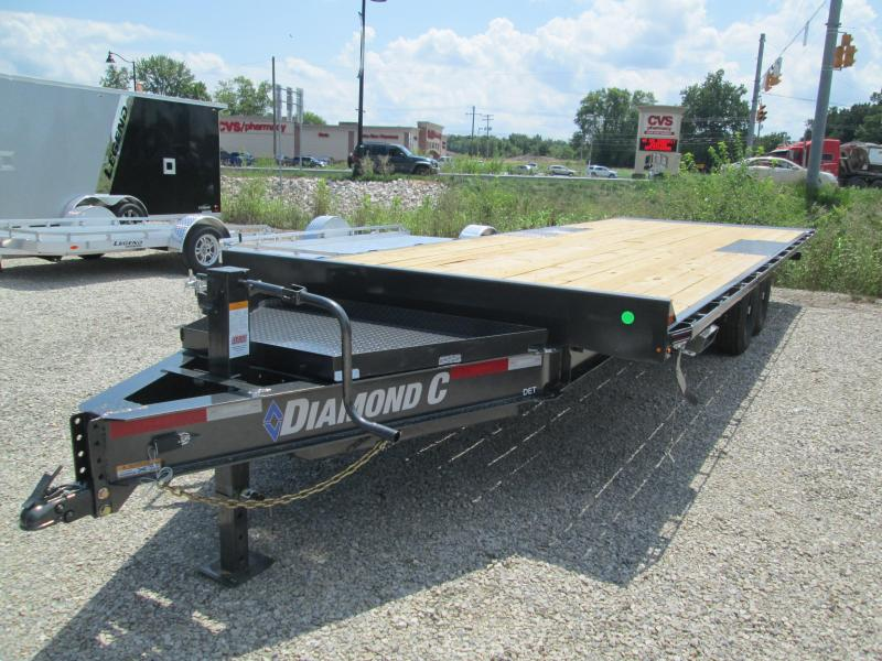"2020 24'x102"" 14.9K Diamond C Tilt Equipment Trailer. 32497"