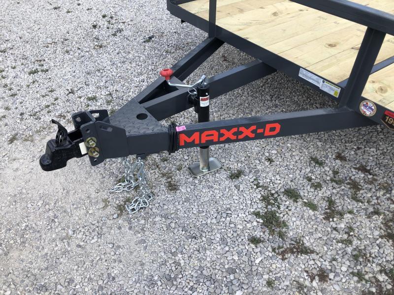 2022 77x12 MAXXD S3X Utility Trailer. 87381