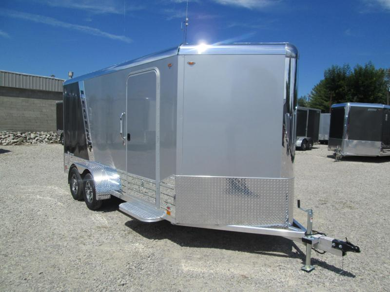 2021 LEGEND 7x16'+3' Foot V-Nose DVN Enclosed Cargo Trailer 317245