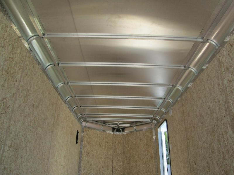2021 LEGEND 7x16'+3' Foot V-Nose DVN Enclosed Cargo Trailer 317245