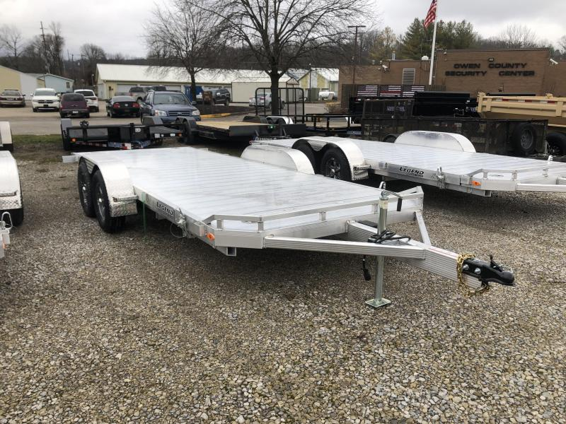 2020 7x20 7K Legend Tilt Car Trailer. 17762