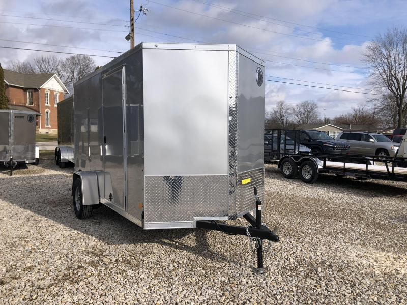 2021 6x12 Darkhorse Enclosed Cargo Trailer. 103498