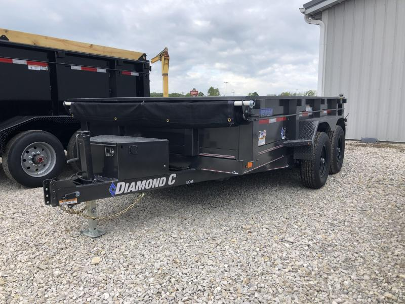 2020 12x82 10K Diamond C EDM252 Dump Trailer. 32423